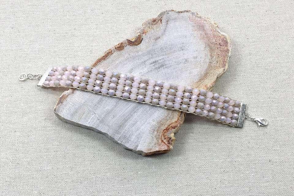 Completed Loom Bracelet