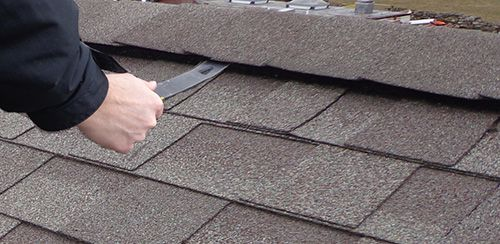 Removing Shingle From Roof Ridge