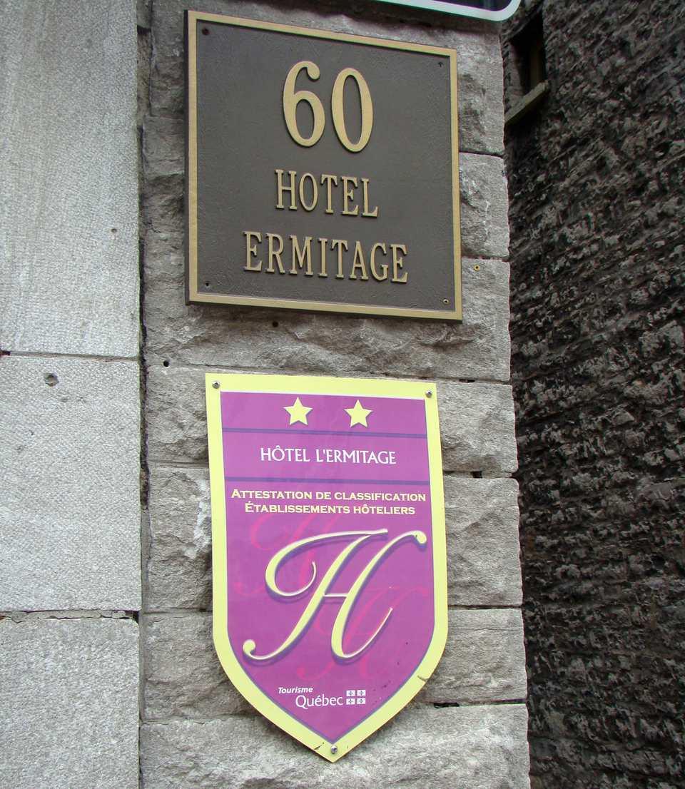 Hotel L Ermitage Quebec City