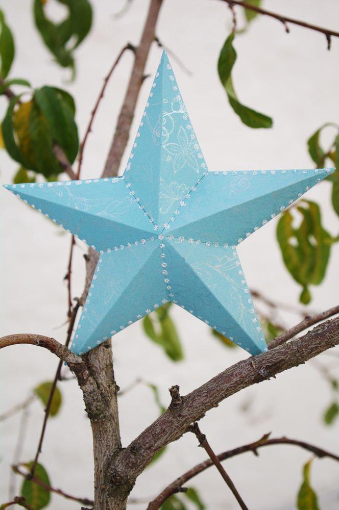 Three Dimensional Paper Star