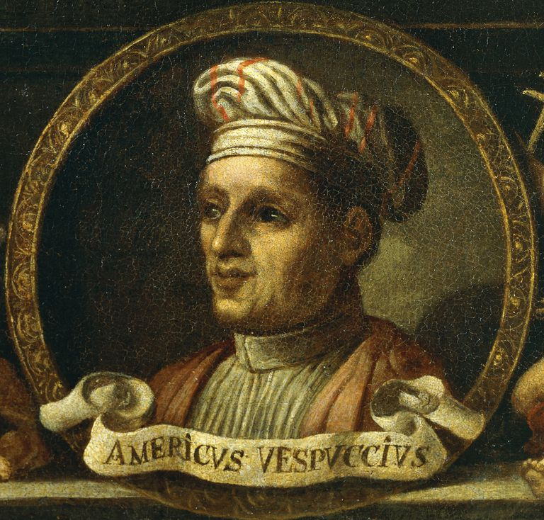 Portrait of Amerigo Vespucci