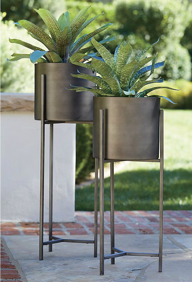 stand in plan property century present plant planters large planter regarding modern with mid decoration