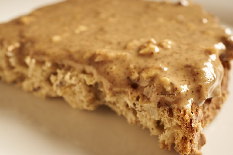 Whole grain toast with almond butter