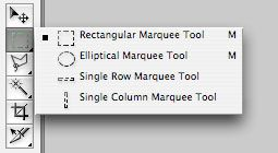 Select a Marquee Tool