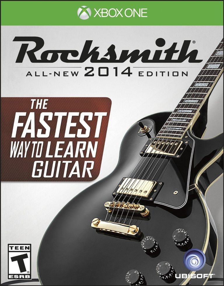 Rocksmith 2014 Xbox One box
