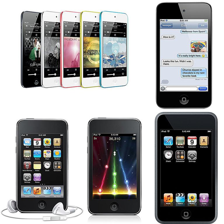 iPod touch history