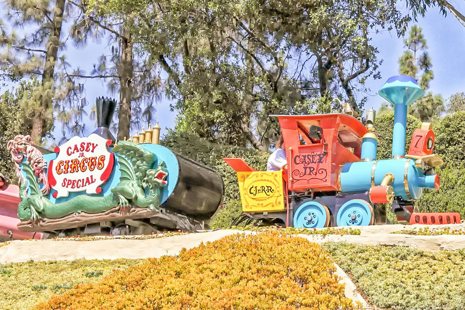Casey Jr. Circus Train at Disneyland