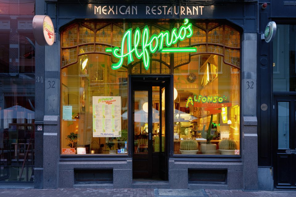 Mexican restaurant on Utrechstraat.