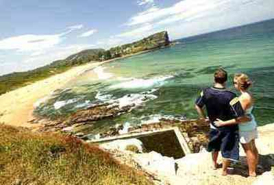 Swimming and surfing beach in Sydney's Northern Beaches region