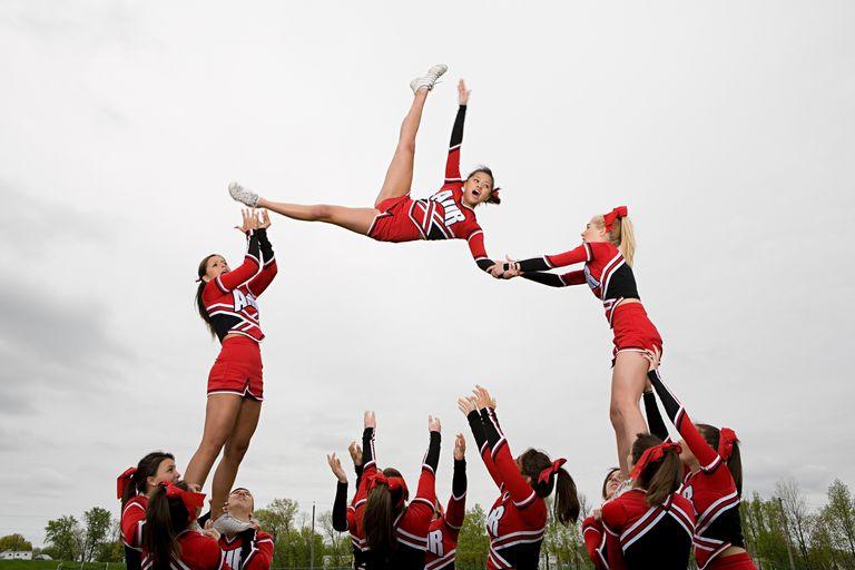I got Cheer Newbie. Quiz: Cheerleading 101