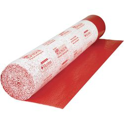Roberts AirGuard 100 sq. ft. 40 in. x 30 ft. x 1/8 in. Premium 3-in-1 Underlayment with Microban