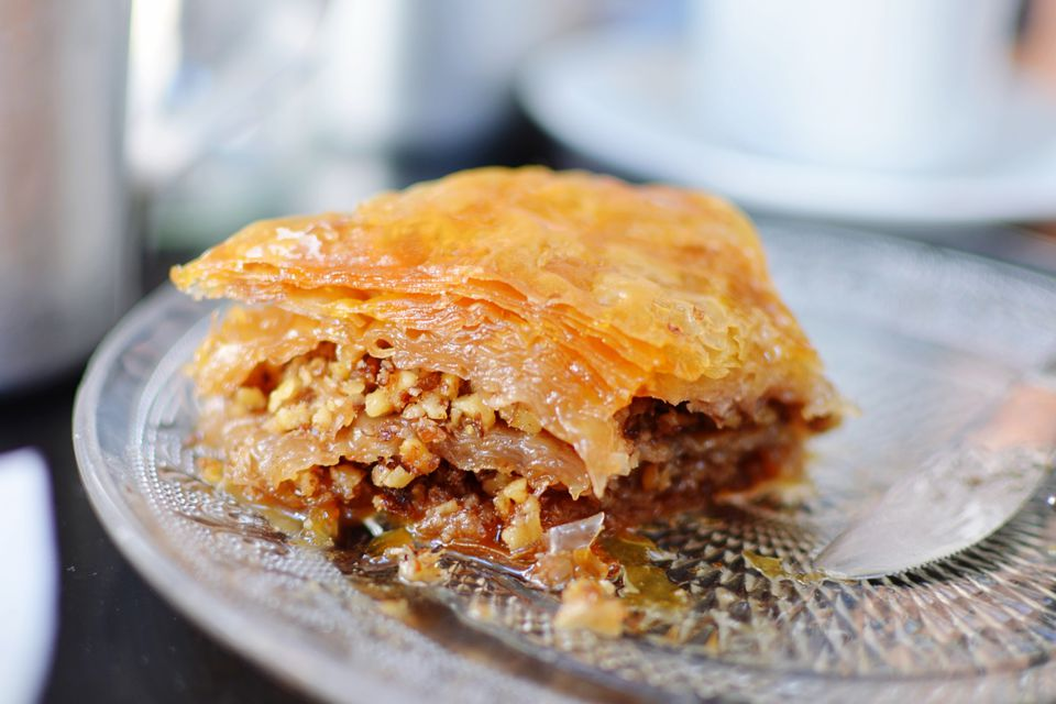 Close Up Of Baklava