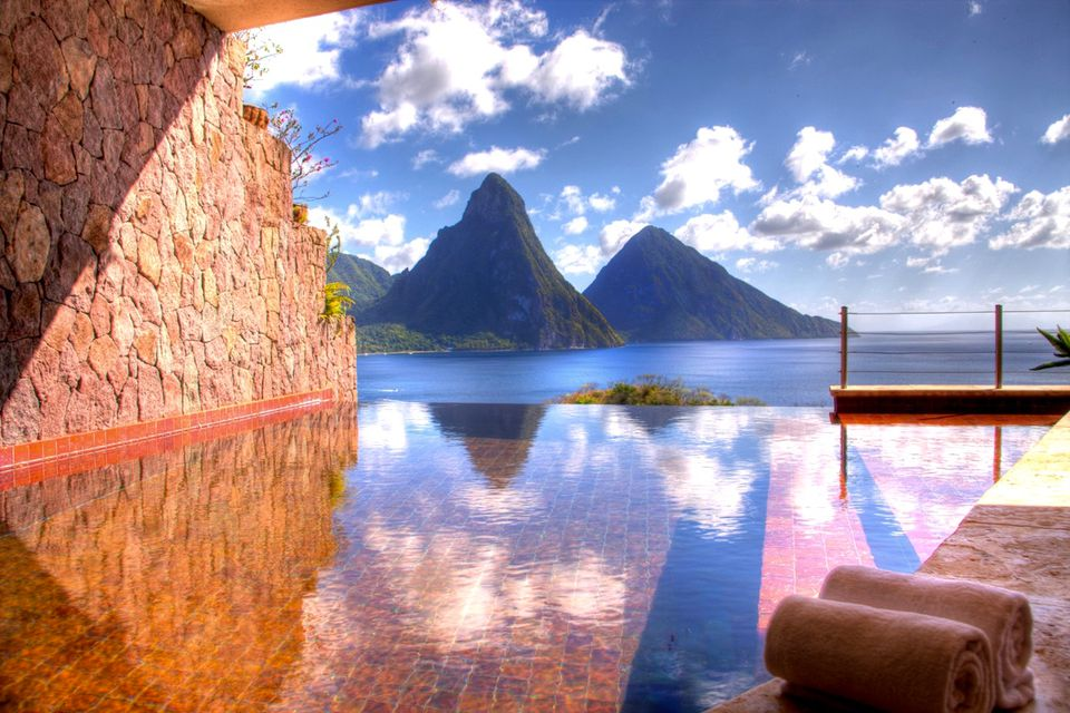 Jade Mountain Resort Saint Lucia Caribbeana
