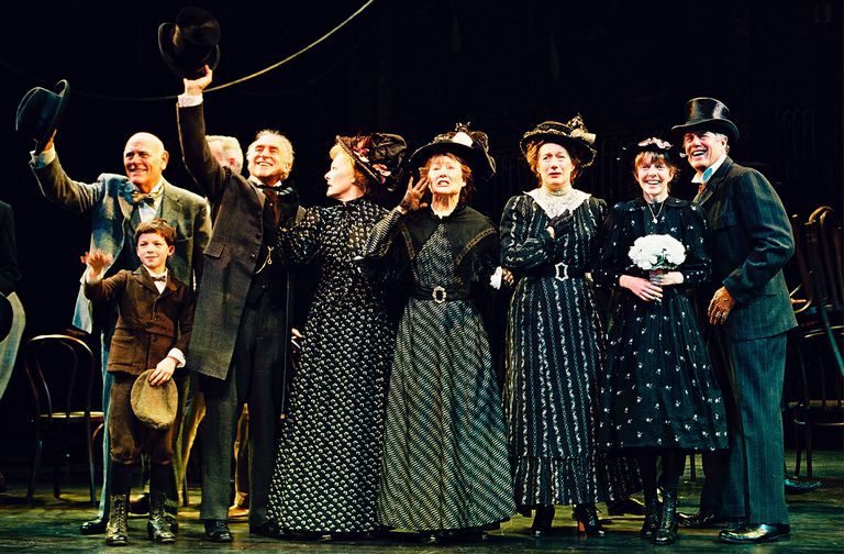 Actors in the cast of the Broadway revival of the Thornton Wilder classic 'Our Town,'