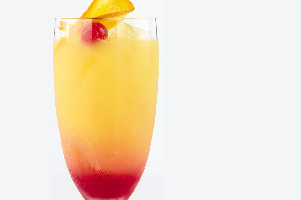 Frozen Tequila Sunrise Margarita