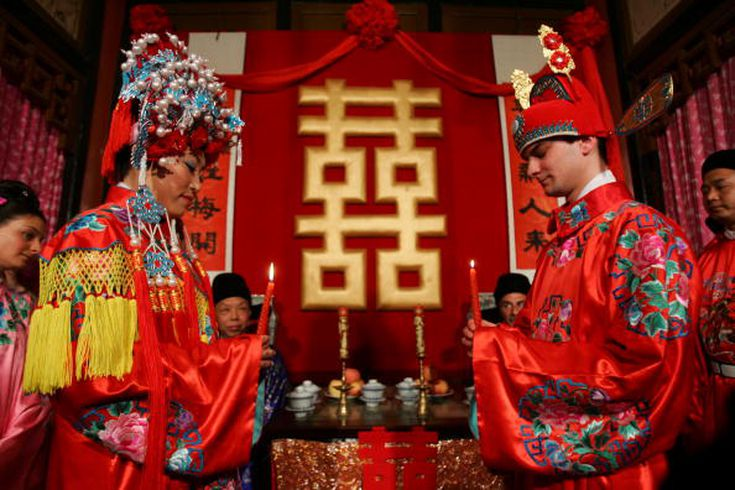 Christian wedding traditions and what they symbolize exploring chinese wedding traditions junglespirit Image collections