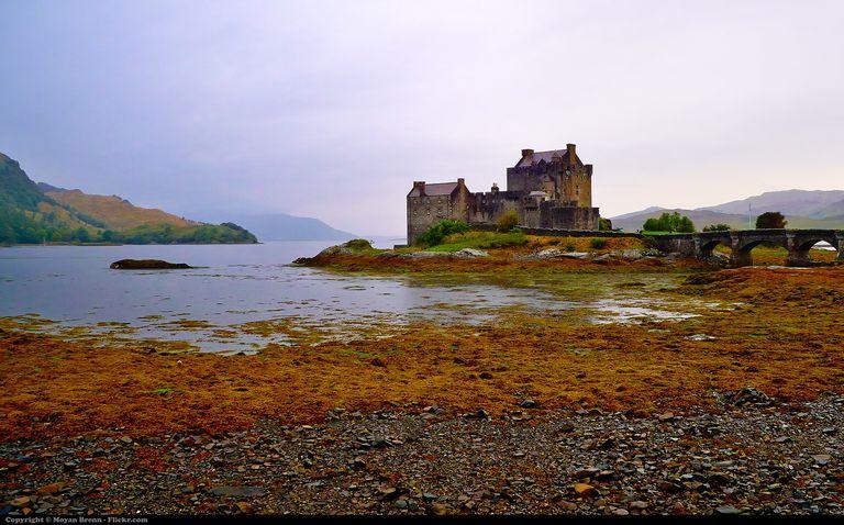 Medieval Scotish castle near Isle of Skye called Eilean Donan