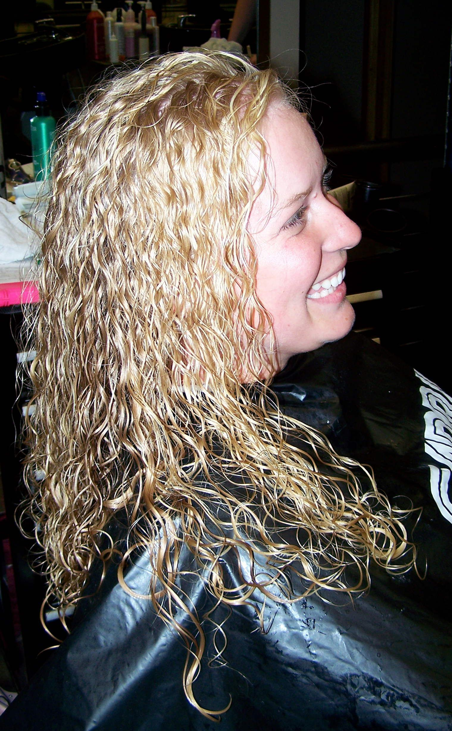 Straight perm and dying hair - Straight Perm And Dying Hair 42