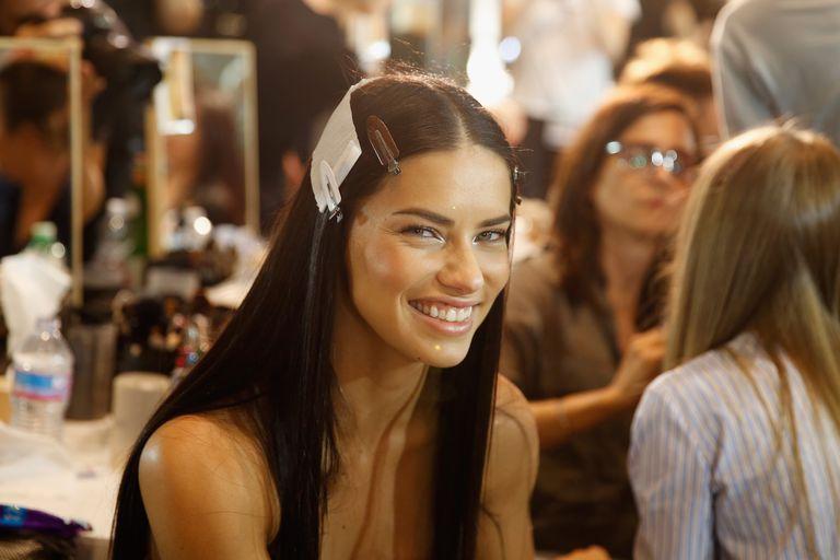 Adriana Lima is a shy model.