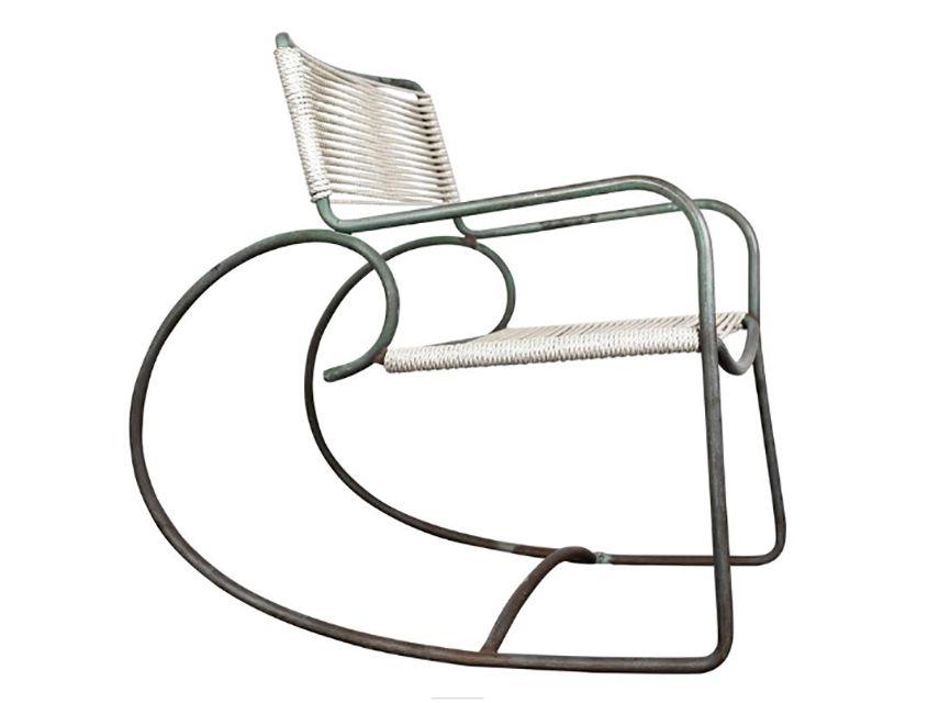 Walter Lamb for Brown Jordan Rocking Chair