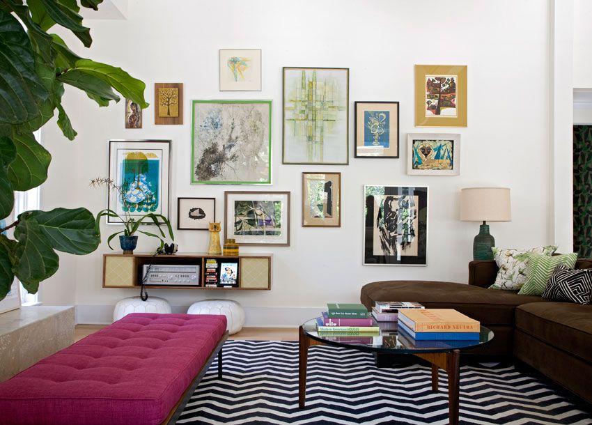 MindBlowing Gallery Wall Design Ideas - Art gallery wall