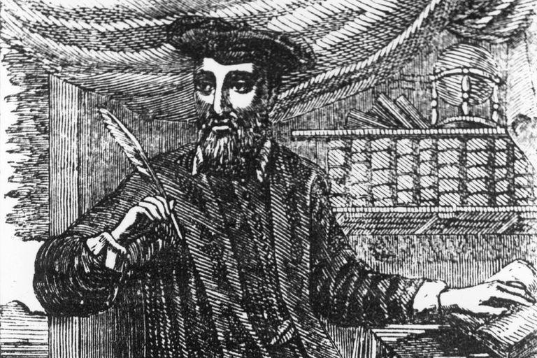 Nostradamus Writing