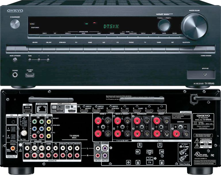 Onkyo TX-NR646 Home Theater Receiver with DTS:X