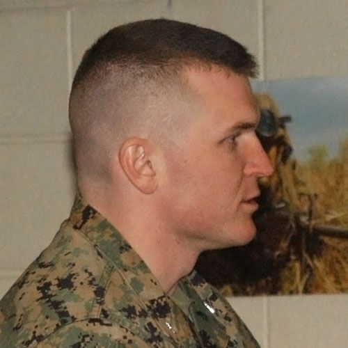 Here Are 10 Pictures of Men's Military Haircuts