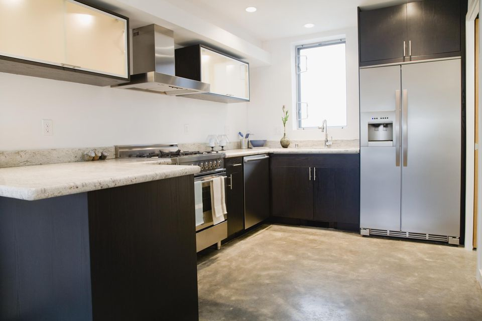 Modern domestic kitchen