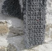 So Easy It's Sinful Scarf Crocheted in V-Stitch