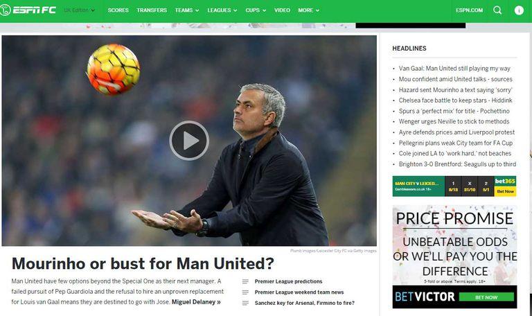 ESPN Soccernet