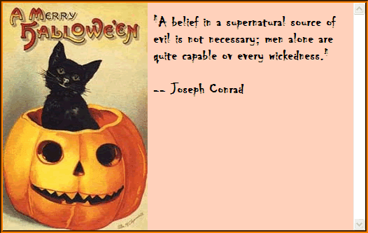 Cat Halloween Card Stationery