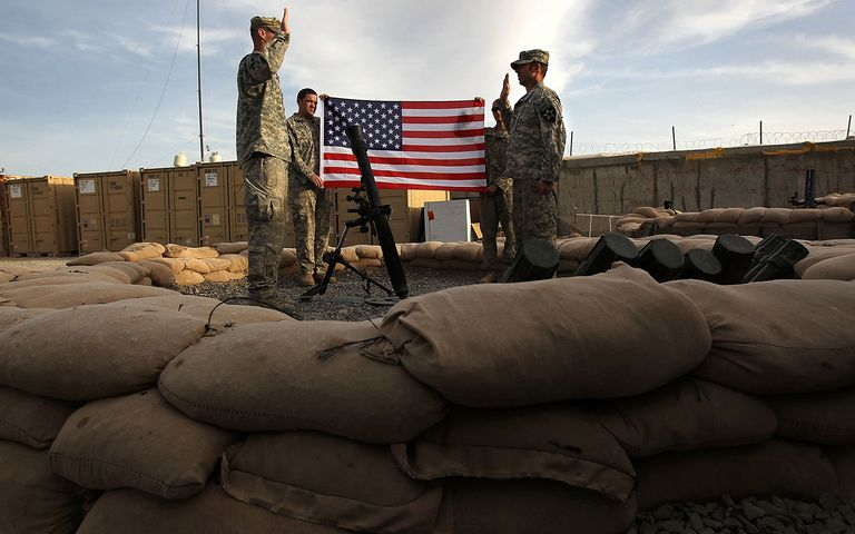 U.S. Army Conducts Operations In Kandahar Province
