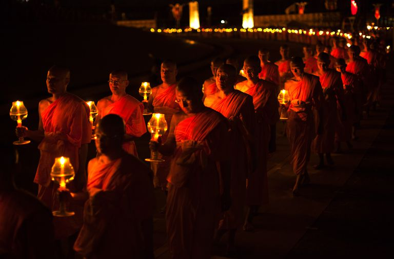 Magha Puja Procession