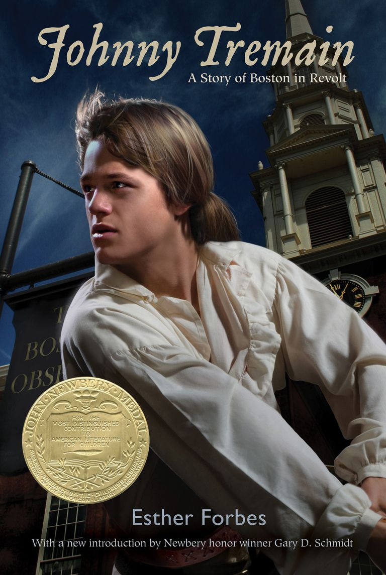 Johnny Tremain by Esther Forbes - Book Cover
