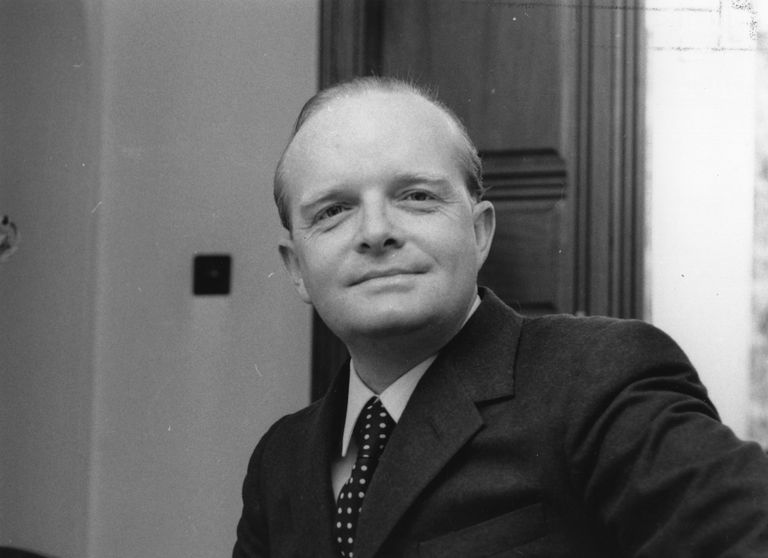 Author Truman Capote