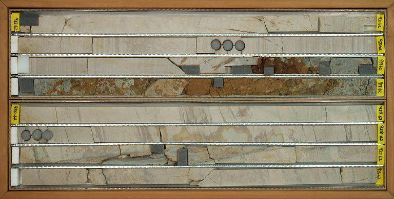 Sediment Core, Cape Roberts Project