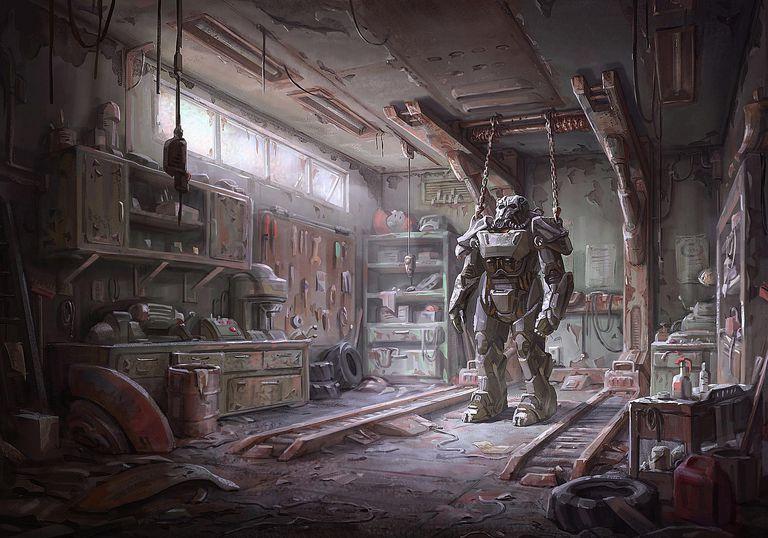 Fallout 4 concept art