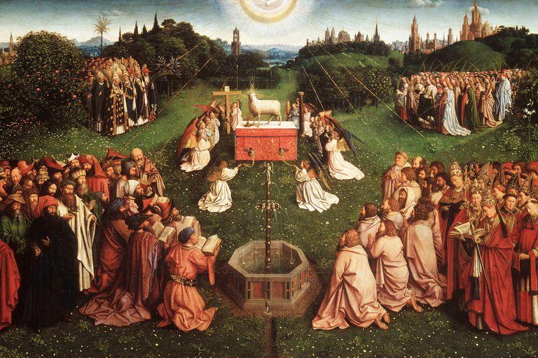 """Jan Van Eyck's """"Ghent Altarpiece"""""""