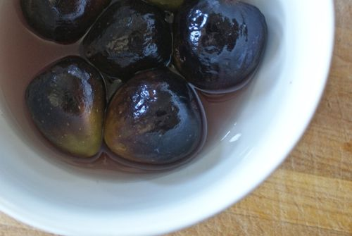 Figs In Spiced Syrup