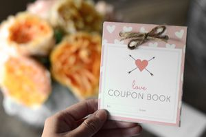 Free printable love coupons and coupon templates a book of love coupons by a bouquet of flowers solutioingenieria Choice Image