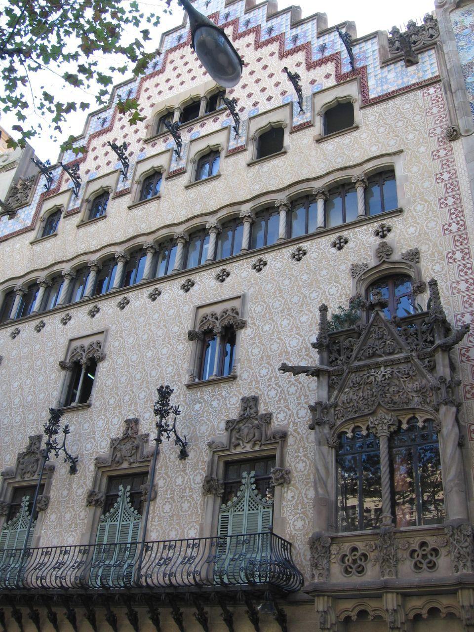 Barcelona Modernist Architecture