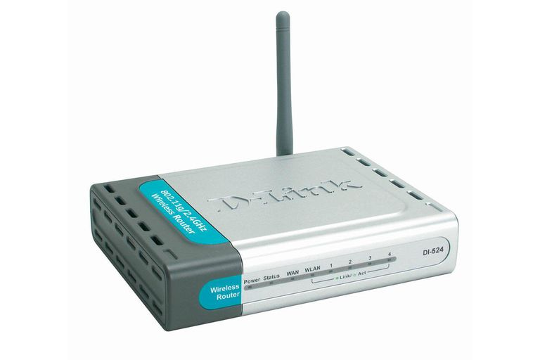 Picture of a D-Link DI-524 router