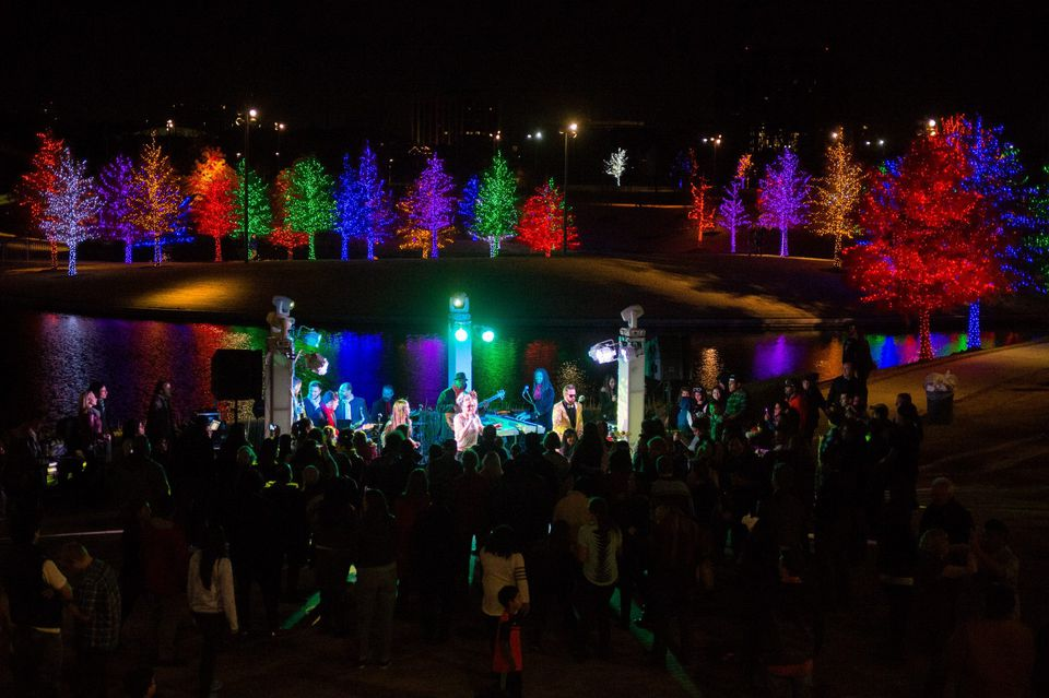 Top 10 Holiday Light Displays Dallas Fort Worth Addison Vitruvian