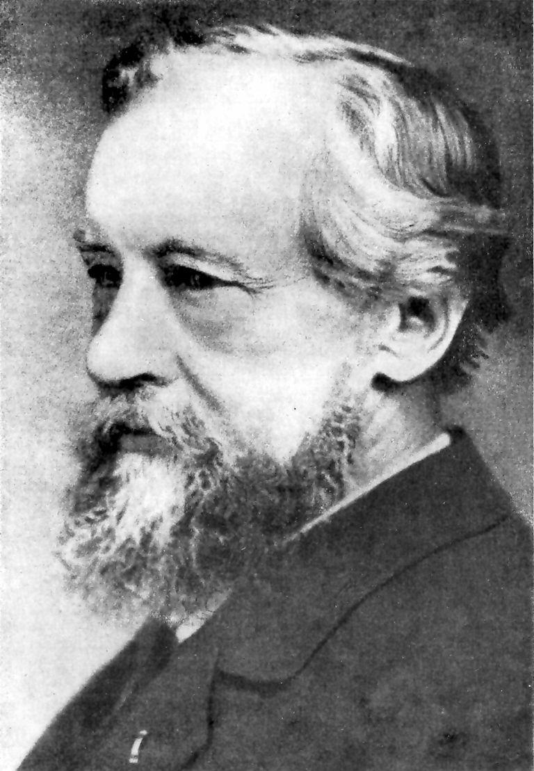 A portrait of Hugo de Vries.