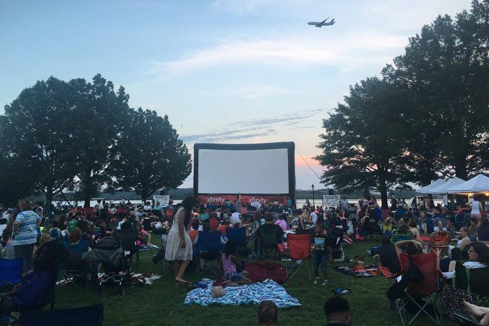 Alexandria Comcast Outdoor Film Festival