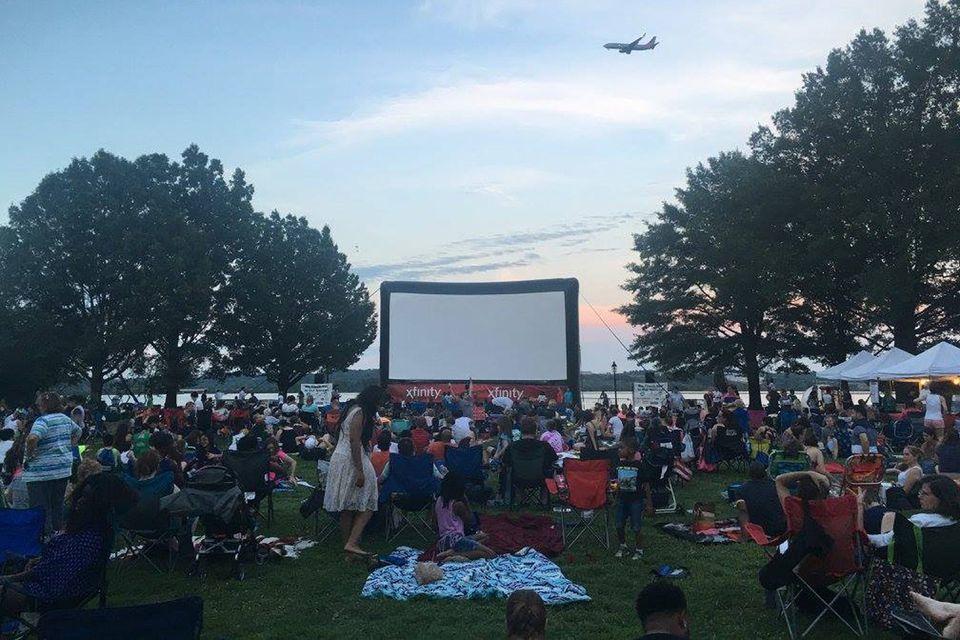 Alexandria Comcast Outdoor Film Festival