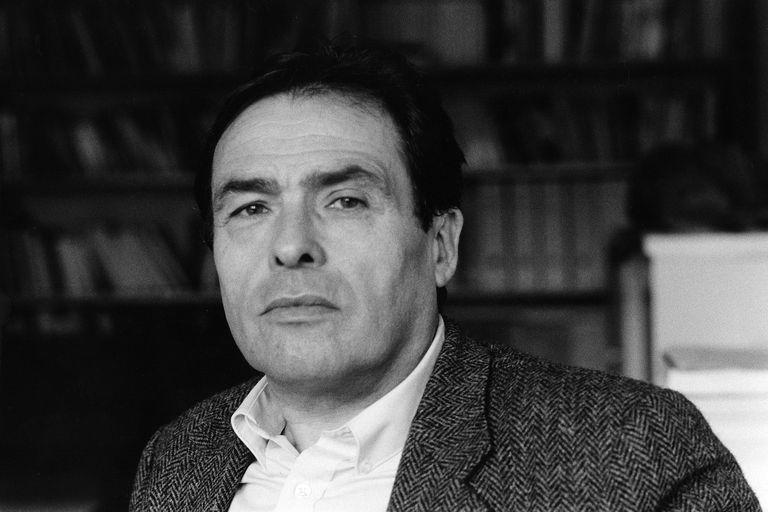 Late sociologist Pierre Bourdieu sits for a portrait.
