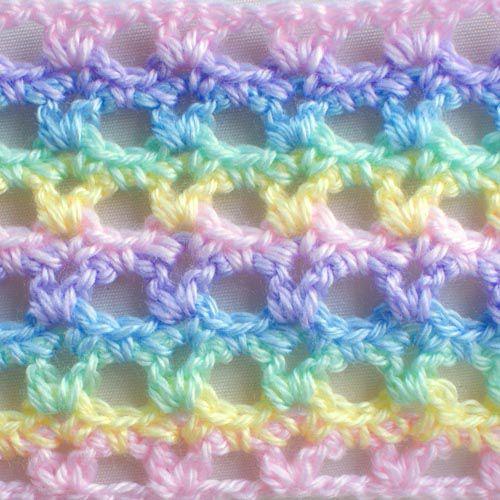 Lacy Rainbow Pastel Baby Swatch