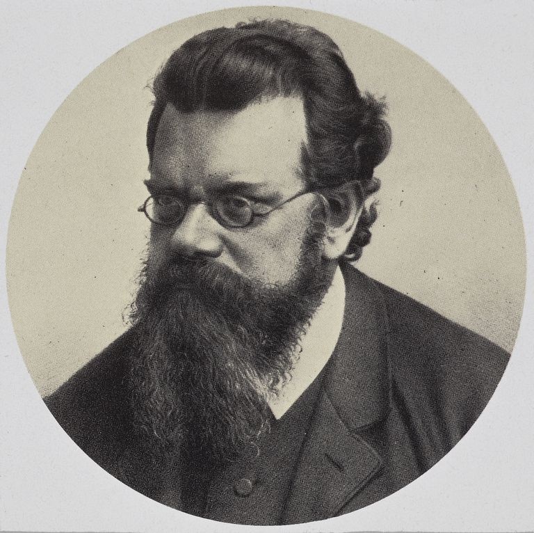 Portrait of Ludwig Boltzmann